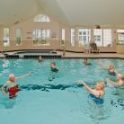 Pool indoor Plaza aerobics
