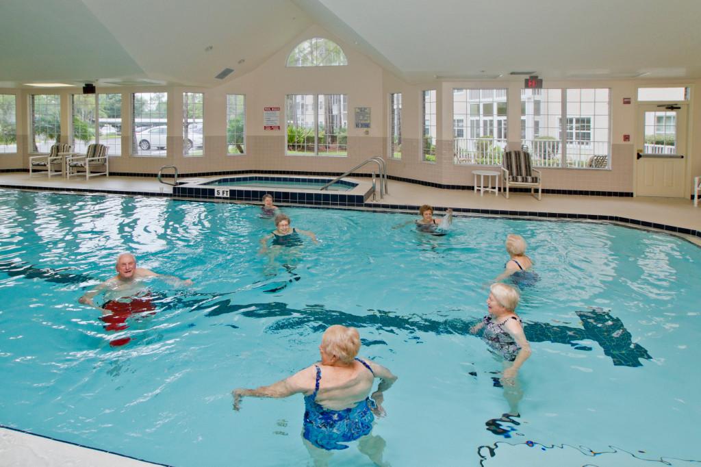 Freedom Plaza Sun City Center Retirement Community » Swimming