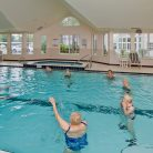 Pool indoor plaza aerobics 3
